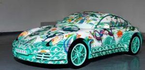 Porsche презентует свой Majun